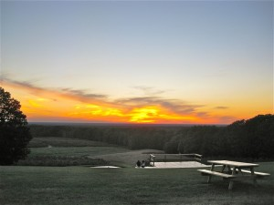 photo of Sunset Over Mapleside Farms