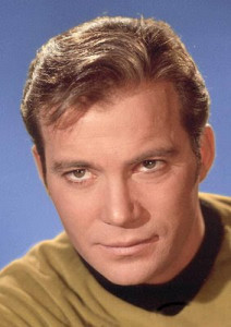 photo of Captain Kirk from Star Trek