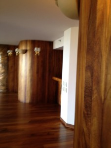 Koa wood wrap and floors
