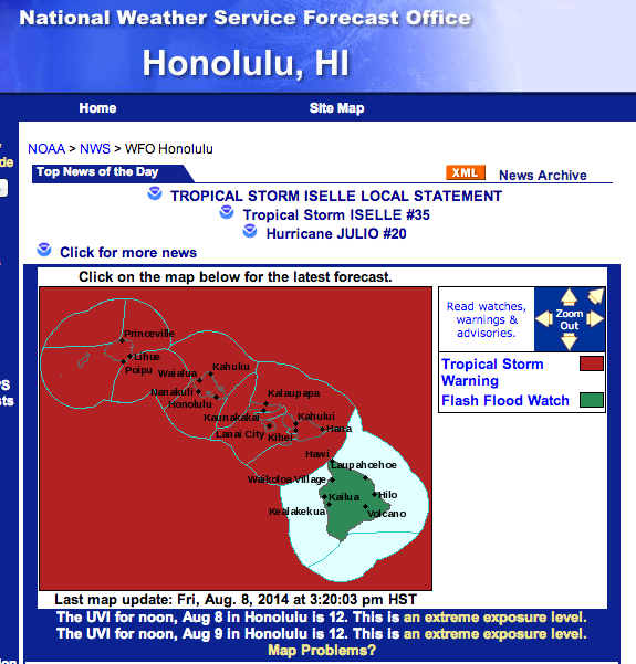 National Weather Service - Honolulu