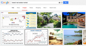 Google image searches for real estate